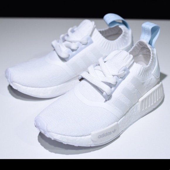adidas Shoes | Nmd R1 Womens Light Blue Size 6 | Poshmark